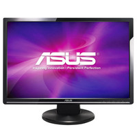 Asus VW224U Black 22  Widescreen LCD Monitor  1680x1050  2ms