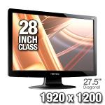 HannsG HH281HPB Black 28  Widescreen LCD Monitor