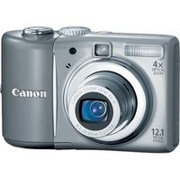 Canon PowerShot A1100 IS Gray Digital Camera  12 1MP  4x Opt  MMCplus SDHC Card Slot