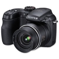 Fujifilm FinePix S1500 Black Digital Camera  10MP  12x Opt  SDHC Card Slot