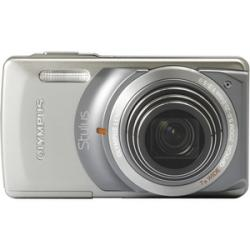 Olympus Stylus 7010 Digital Camera  12MP  7x Zoom  Silver