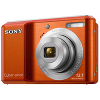 Sony DSC-S2100 Orange Cyber-Shot Digital Camera - DSC-S2100 D