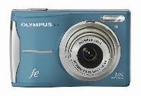 Olympus FE-46 Blue 12 0 Megapixel Digital Camera Holiday Bundle