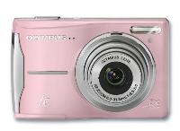 Olympus FE-46 Pink 12 0 Megapixel Digital Camera Holiday Bundle