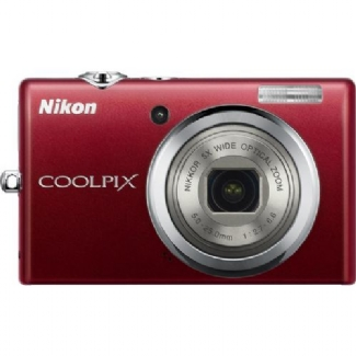 Nikon Coolpix S570 Red 12 Megapixel Digital Camera - COOLPIX S570RED