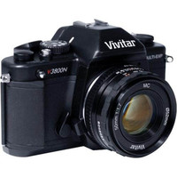 Vivitar V3800-KIT SLR Camera With 50mm Lens   Accessory Kit