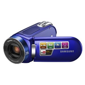 Samsung SMX-F34 16GB Flash Memory Camcorder  34x Opt  1200x Dig  2 7  LCD