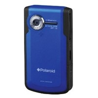 Polaroid DVF-130GC Pocket Video Camera - 4x Digital Zoom 2 0 LCD 16MB Internal Memory Green