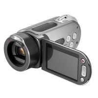 Samsung HMX-H200 Digital Camcorder- Silver   20X Optical  O I S  1920x1080  2 7