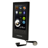 Samsung YP-P3JES 16GB Silver MP3 Player  3  LCD  Flash Drive  FM Tuner  5 Hours Video  30 Hours Audio