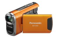 Panasonic SDR-SW21 orange  DVD Camcorder