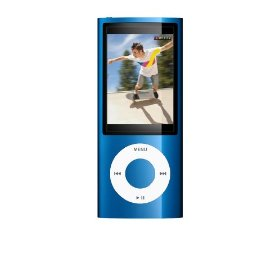 Apple iPod nano 5th Generation Blue  16 GB  MP3 Player