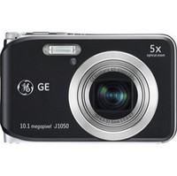 GE J1050 Black Digital Camera 10 1 megapixel 5x optical zoom 2 7  LCD