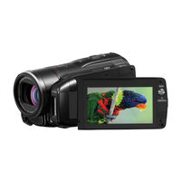 Canon VIXIA HF M31  32 GB  High Definition AVC Camcorder