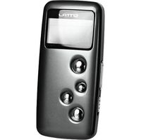 Latte Communications LPM28GBBLK 8GB MP3 Player With FM Transmitter - Black MP3 Player