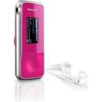 Philips SA1MXX04P 02 GoGear Mix 4 GB MP3 Player - pink Other versions available  Black MP3 Player