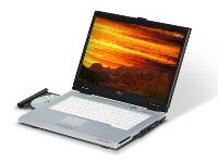 Fujitsu LifeBook V1010 - Core 2 Duo T5200 / 1.6 GHz - RAM 2 GB - HDD 120 GB - DVDRW (+R DL) / DVD-R... (FPCM32444) PC Notebook