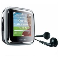 Philips - GoGear SA2446BT 4 GB Bluetooth FM MP3 Player MP3 Player