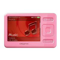 Creative Technology Zen 2 GB Pink MP3 Player