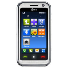 LG Arena KM900  8 GB  Cell Phone