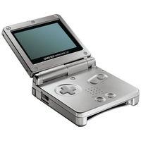 Nintendo Game Boy Advance SP Silver Console