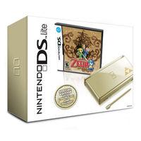 Nintendo DS Lite Zelda Gold Console