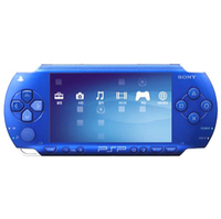 Sony PlayStation Portable  PSP  Blue Console