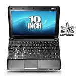 MSI Wind L1350-430US Netbook - Intel Atom N450 1 66GHz  1GB  160GB HDD  10 WSVGA  Windows 7 Starter  Blac  9S7-N01422-430
