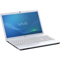 Sony VAIO R  VPCEB16FX W 15 5  Notebook PC - Glossy White