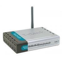 D-Link AirPlus G DI-524 Wireless Router - Wireless router   4-port switch - EN  Fast EN  802 11b  80