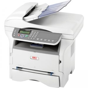 Oki Electric Industry MB280 MFP 22PPM 120V-E F P S All-In-One Laser Printer