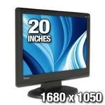 ViewSonic Q201WB 20 inch LCD Monitor
