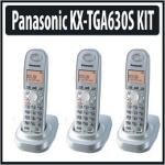 Panasonic KX-TG6312S 1 9 GHz Twin 1-Line Cordless Phone