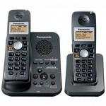 Panasonic KX-TG3032B 2 4 GHz Twin 1-Line Cordless Phone