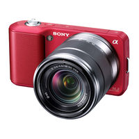 Sony NEX-3K Digital Camera with 18-55mm lens
