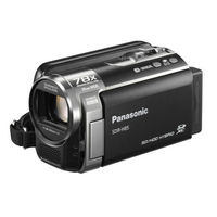 Panasonic Sdr-h85 Camcorder With 80gb Hdd  X78 Enhanced Optical Zoom  Wide Angle Lens  Ia   Af Track