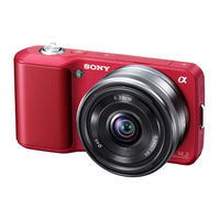 Sony NEX-3A Digital Camera with 16mm lens