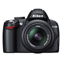 Nikon D3000 Digital Camera with 18-105mm lens