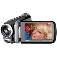 Sanyo Xacti CG20 High Definition Camcorder - black   DB-L80AEX Battery   8 GB SDHC Memory Card   HDMi mal