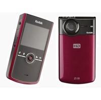 Kodak Zi8  0 29 GB  Hard Drive Camcorder