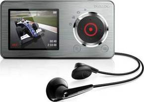 Philips SA2CAM08K  8GB  MP3 Player