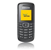 Samsung E1080 - Black OPTUS  Australian Stock  Cell Phone