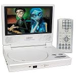 Axion LMD-6708RY 7 in  Portable DVD Player with Screen