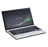 Sony VAIO R  VPCZ122GX S 13 1  Z Series Notebook PC - Silver