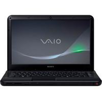 Sony VAIO R  VPCEA25FX BI E Series 14  Notebook PC - Matte Black
