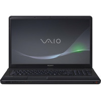 Sony VAIO R  VPCEC22FX BI E Series 17 3  Notebook PC - Matte Black