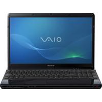 Sony VAIO R  VPCEB27FX B E Series 15 5  Notebook PC - Matte Black