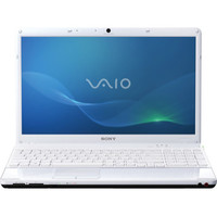 Sony VAIO R  VPCEB27FX W E Series 15 5  Notebook PC - Matte White