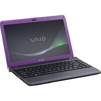 Sony VPCY216GX V VAIO R  Y Series 13 3  Notebook PC - Violet