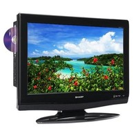 Sharp LC-26DV28UT 26 in  LCD TV DVD Combo